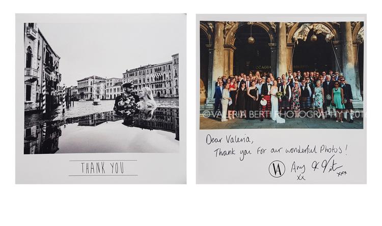 thank you card ringraziamento dagli sposi