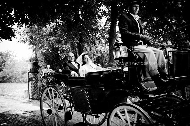 Matrimonio in carrozza Padova