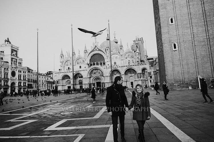 Proposta Di Matrimonio A Venezia Invernale