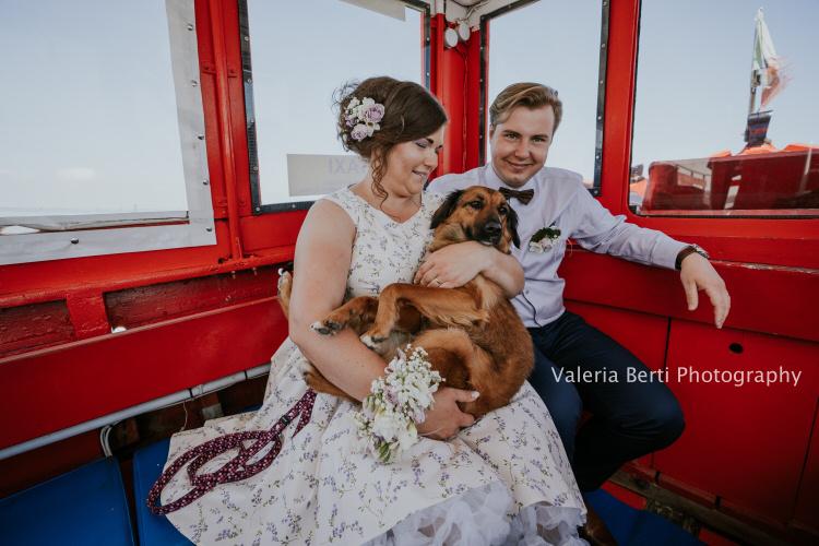 Matrimonio Intimo a Chioggia e Pellestrina con il cane